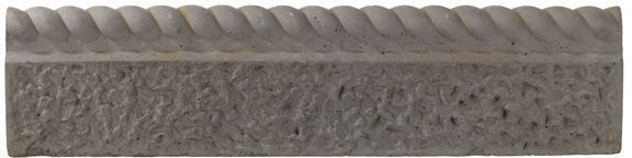 Rope Top Paving Edging Old Granite, (l)600mm (h)150mm (t)50mm Pack Of 38