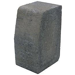 Block Kerb Charcoal, (L)100mm (H)200mm (T)125mm