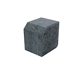 Block Kerb Charcoal, (L)100mm (H)125mm (T)125mm