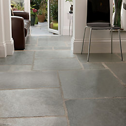 Azure Natural Limestone Mixed Size Paving Pack, 15.30