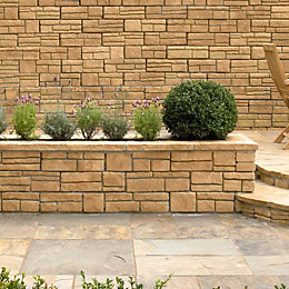 Wetherdale Double Sided Coping Stone Autumn, (L)460mm (H)195mm
