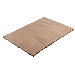 Modac Brown Natural Sandstone Mixed Size Paving Pack,
