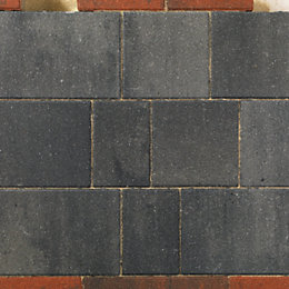 Graphite Driveflair Mixed Size Block Paving, Pack of