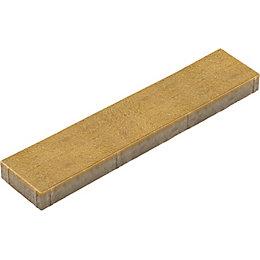 Dark Buff Washed Stonemaster Paving Slab (L)800 (W)200mm