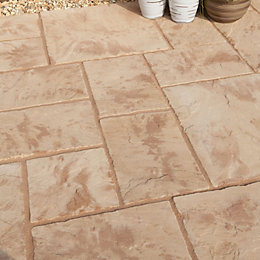 Abbey Original Ancestry Single Paving Slab (L)300mm (W)450mm