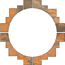 Abbey Original Ancestry Paving Circle Squaring Off Pack2.4M