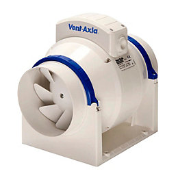 Vent-Axia Acm100 In-Line Mixed Flow Fan 98 mm