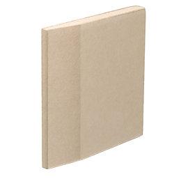 Gyproc Tapered Edge Plasterboard (L)2400mm (W)1200mm (T)9.5mm