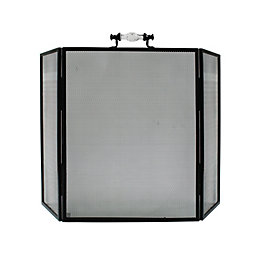Slemcka Contemporary Metal Fire Screen