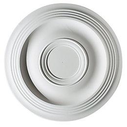 Artex Expression White Ceiling Rose (Dia)360mm