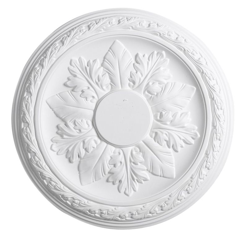 Artex Cavendish White Ceiling Rose (dia)360mm