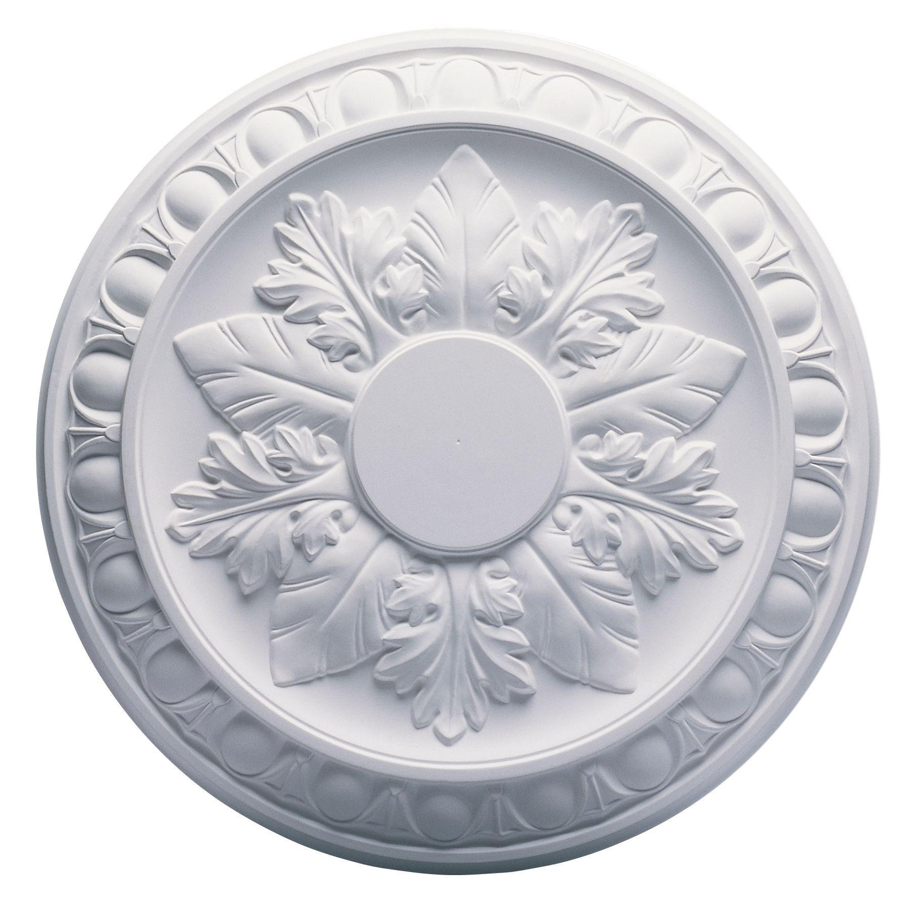 Artex Richmond White Ceiling Rose (dia)360mm