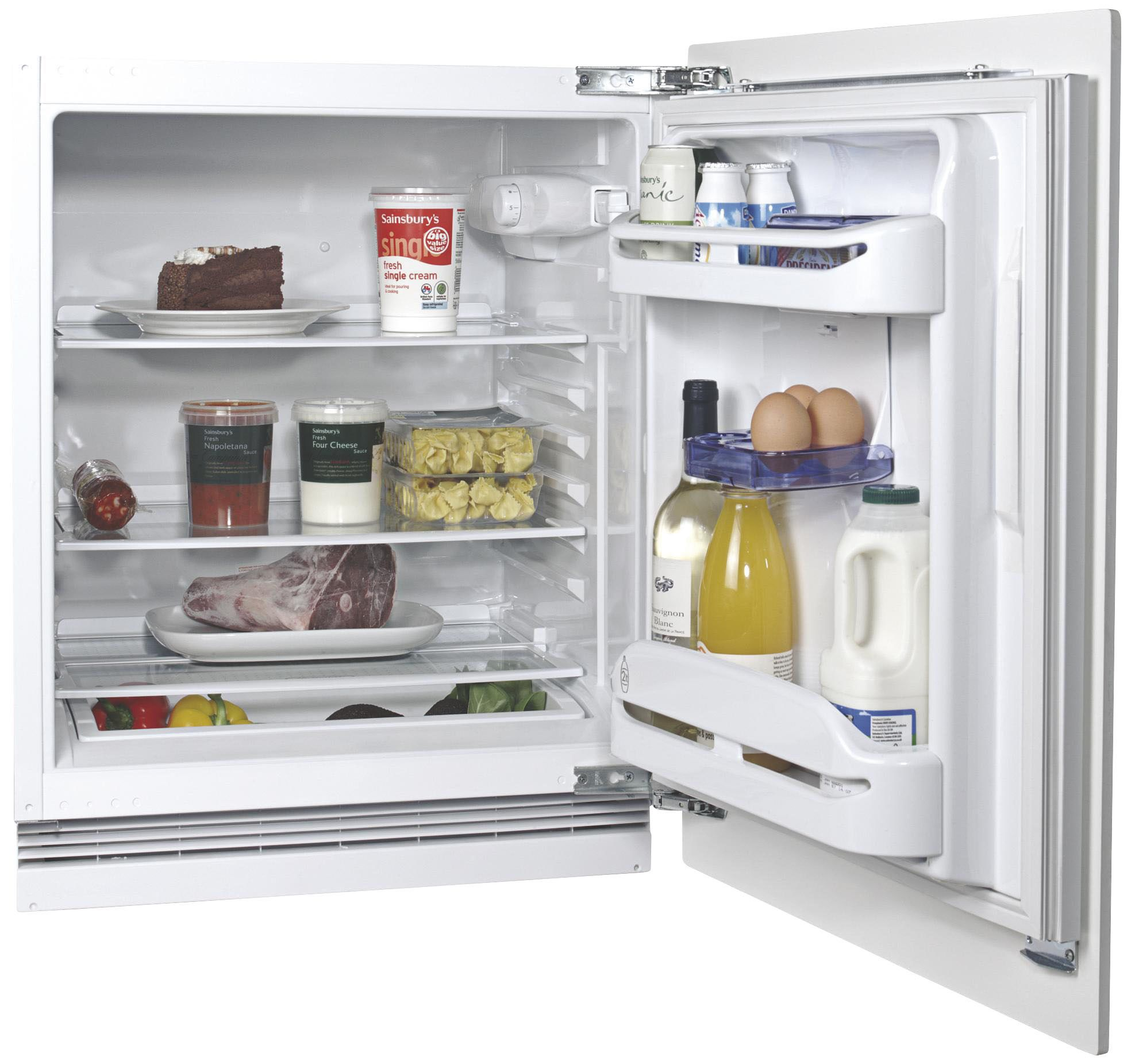 Hotpoint HUL1622 White Integrated Fridge