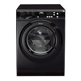Hotpoint WMXTF742KUK Black Freestanding Washing Machine
