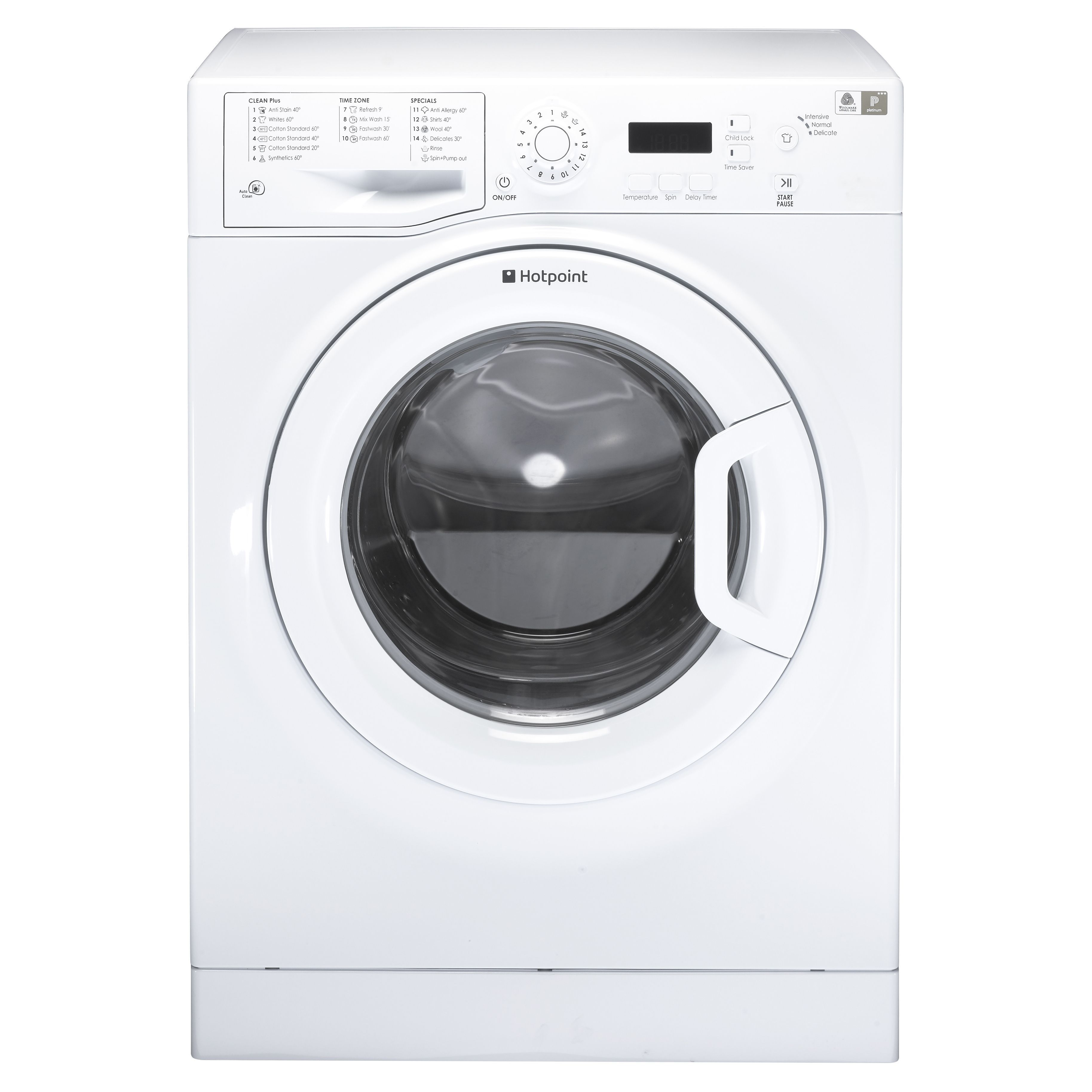 Animated Tumble Dryer ~ Hotpoint wmxtf puk white freestanding washing machine