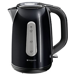 Hotpoint WK30MDBK0 Electric Kettle, Black