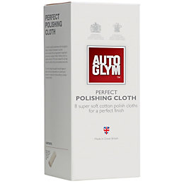 Autoglym Cotton Polishing Cloth, Pack of 8