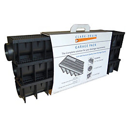 Clark Polypropylene Channel Drainage Garage Pack