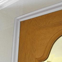 Stormguard Aluminium/ PVC Door Seal, (L)5.25m