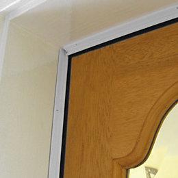Stormguard PVC Self Adhesive Door Seal Kit, (L)4.57m