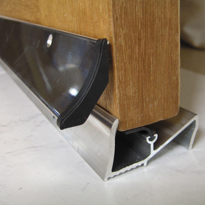 Stormguard aluminium rubber threshold kit l 838mm - Seuil de porte isolant ...
