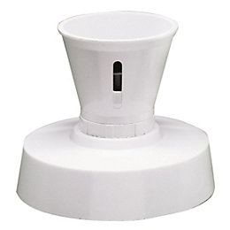 Crabtree Gloss Plastic Batten Lamp Holder