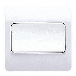 MK 10A 2-Way Single White Single Light Switch