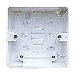 MK 40mm Thermoset Single Pattress Box