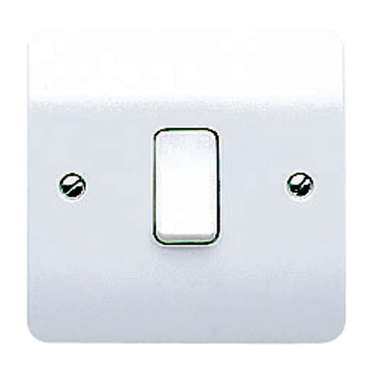 Mk 10a 2 way single white gloss intermediate switch B q bathroom design service