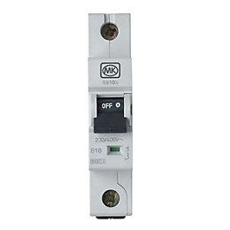 MK 10A MCB (Miniature Circuit Breaker)