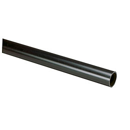 MK Black Heavy Duty Conduit (Dia)25mm (L)3m
