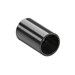 MK Black Coupling (Dia)20mm, Pack of 2