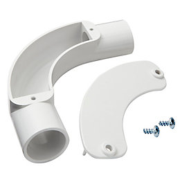 MK White Inspection Bend (Dia)25mm