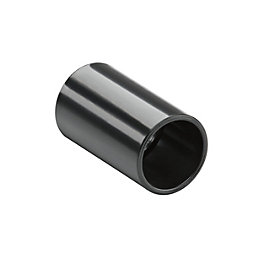 MK Black Coupling (Dia)25mm, Pack of 2