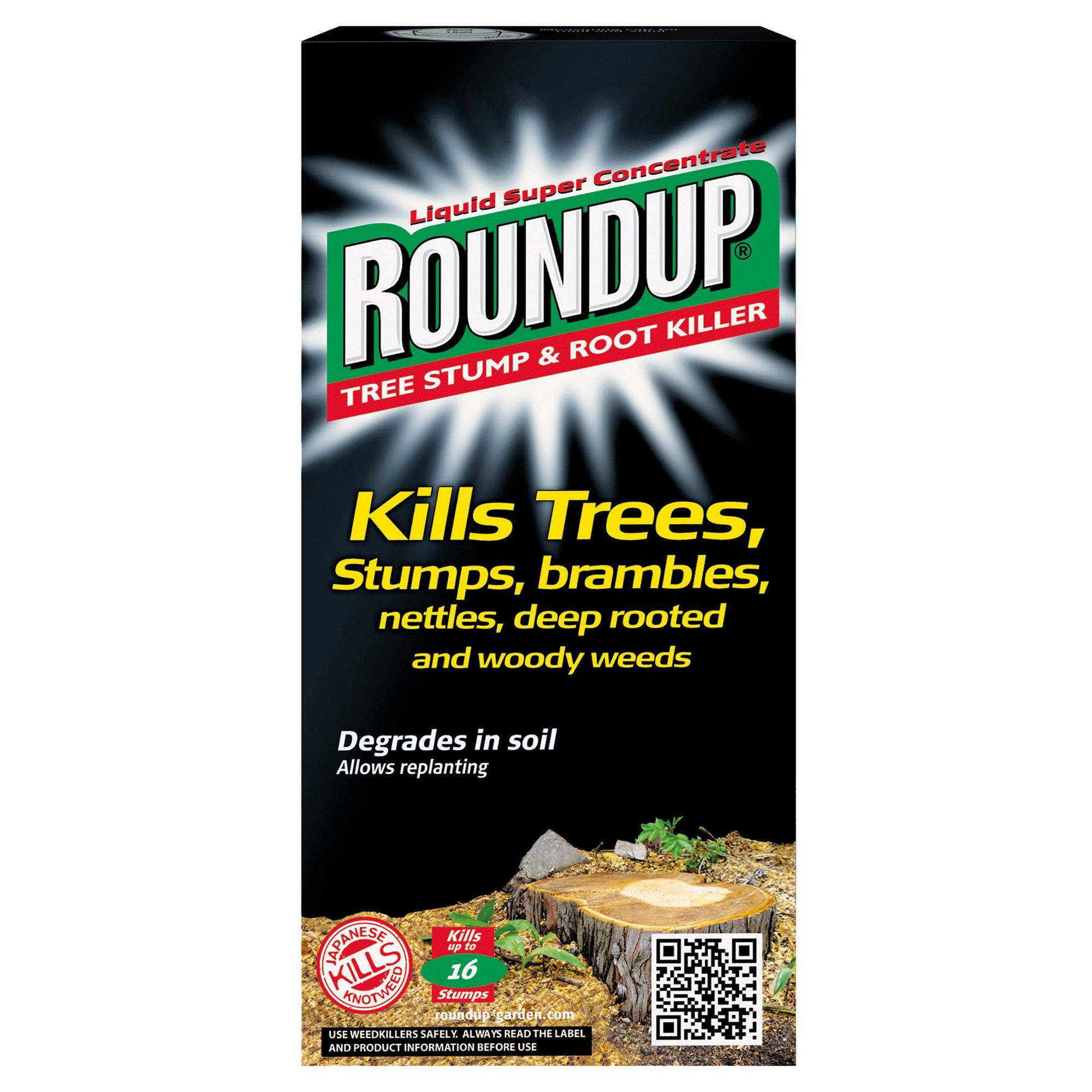 Roundup Concentrate Tree Stump Amp Root Killer 250ml