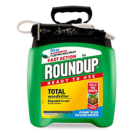 Roundup Ready to Use Weed Killer 5L 0.01kg