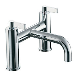 Ideal Standard Silver Chrome Bath Filler Tap