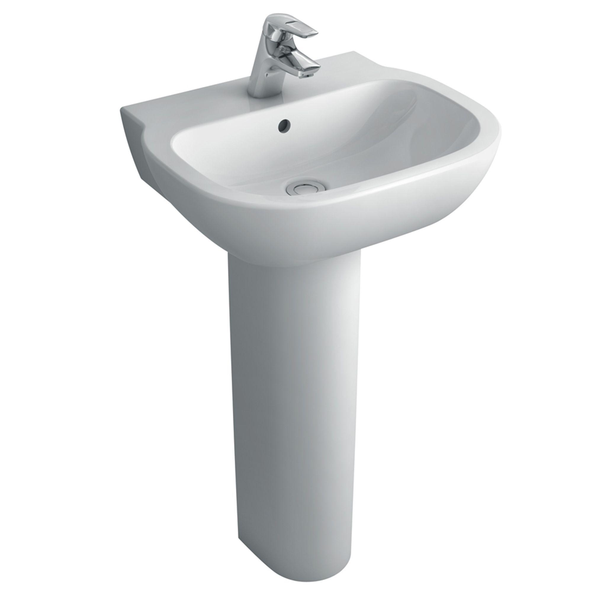 Bathroom Sinks B&Q Ireland ideal standard imagine pedestal basin | departments | diy at b&q