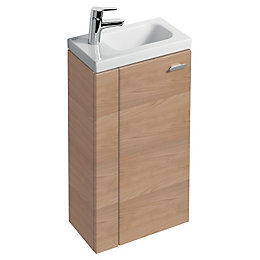 Ideal Standard Imagine Compact Oak Effect Vanity Unit,