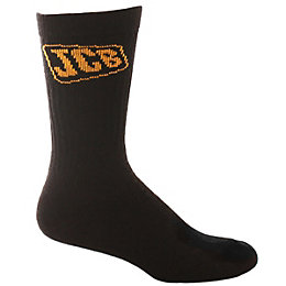JCB 4 Pairs Of Black Work Socks