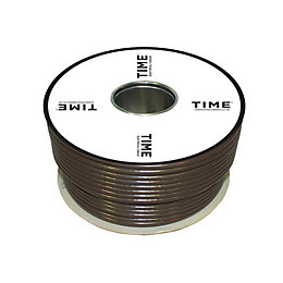 Time Coaxial Cable Brown 100m