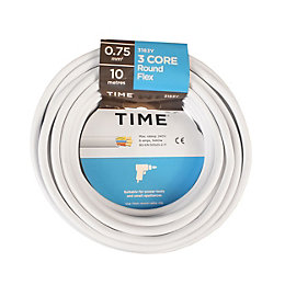 Time 3 Core Round Flexible Cable 0.75mm² 3183Y
