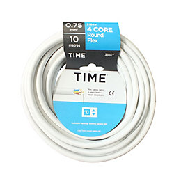 Time 4 Core Round Flexible Cable 0.75mm² 3184Y
