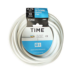 Time 5 Core Round Flexible Cable 0.75mm² 3185Y