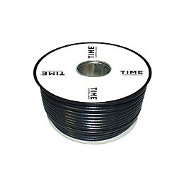 Time Satellite Cable Black 50m