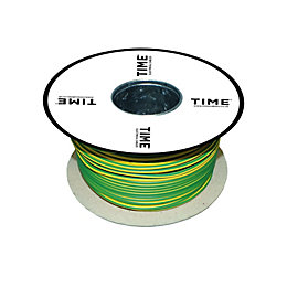 Time Single Core Conduit Cable 10mm² 6491B Green