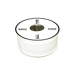 Time GT100 Digital Coaxial Cable White 100m