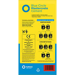 Blue Circle Mastercrete Cement 25kg Bag