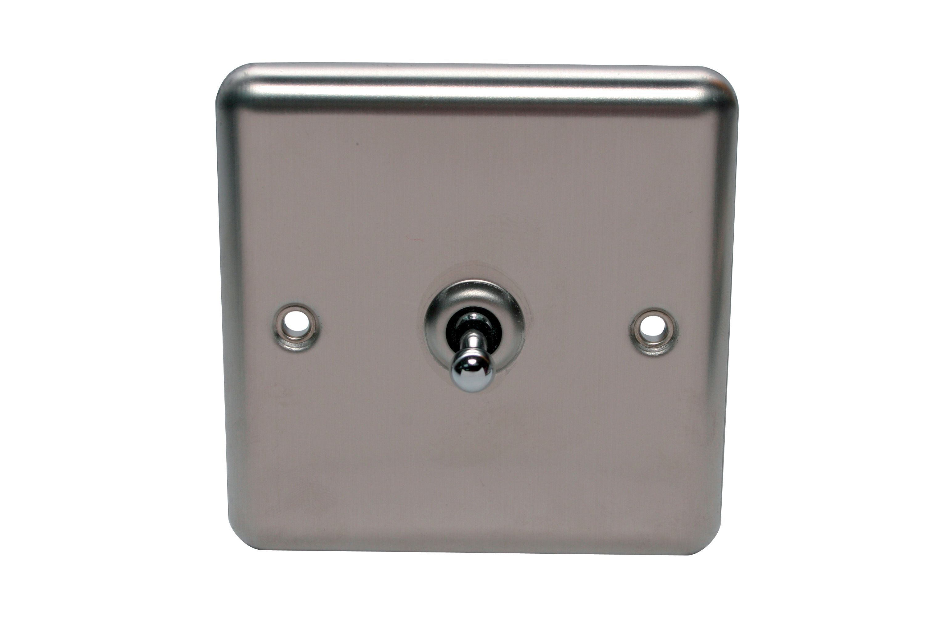 Holder 10ax 2 Way Single Stainless Steel Single Toggle