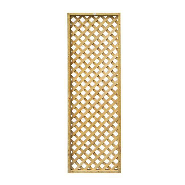 Highgrove Timber Square Trellis Panel (h)1.83m(w)0.61 M